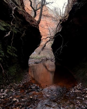 Secret Canyon, Caddo County, Oklahoma
