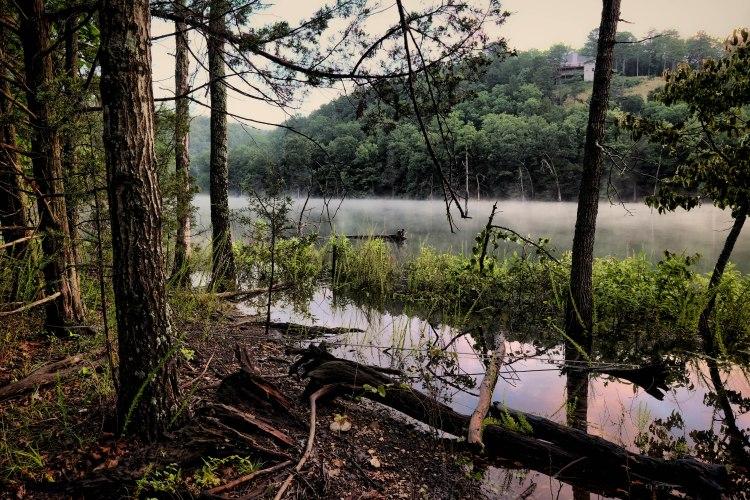 Beaver-Lake-Sunrise-Mist-NW-Arkansas