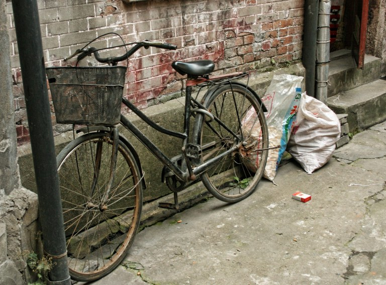 Back Alley Bicycle, Shanghai