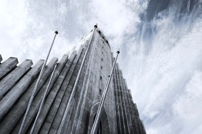 Another view of Hallgrimskirkja