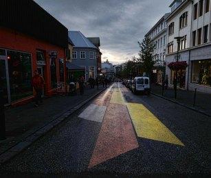 Street scene, Reykjavik, Iceland
