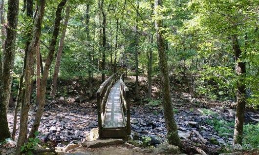 Bridge Cedar Falls Trail