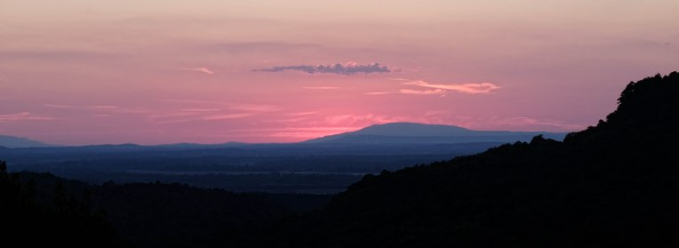 Petit Jean Sunset