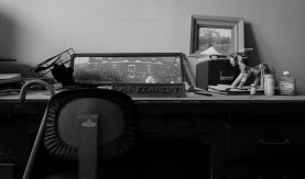 Mr. Kennedy's desk