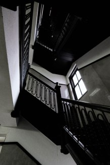 Staircase in the McCulloch Building