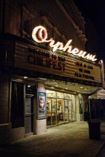 Exterior, Orpheum Theatre