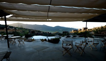 Suzanna's view of the Valle de Guadalupe