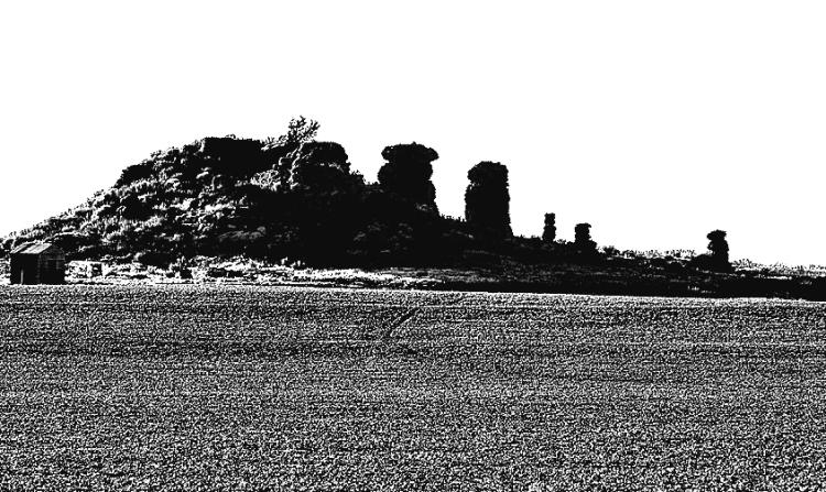 Sketch Chimney Mound