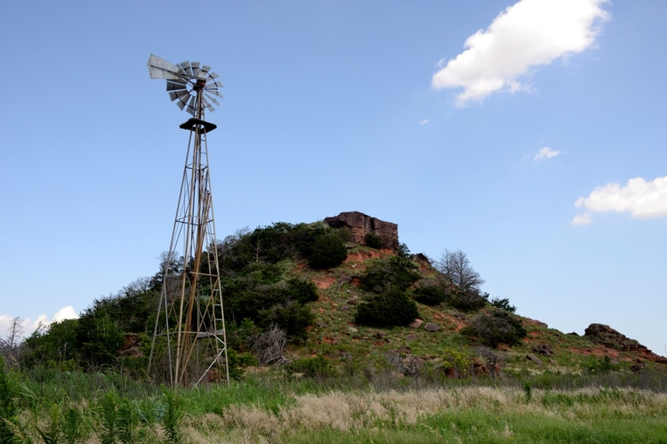 Small Crown Mound Windmill